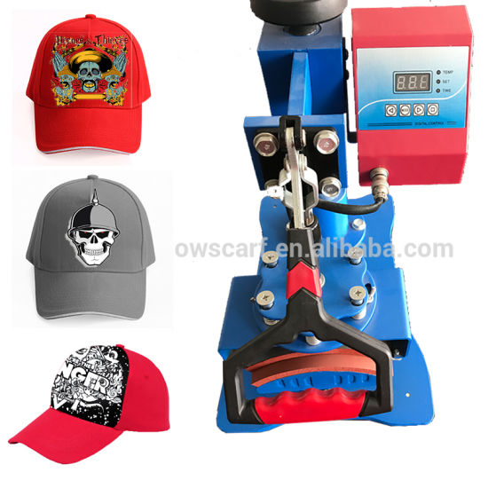 Digital Photo Sublimation Cap Heat Transfer Printing Hat Press Machine