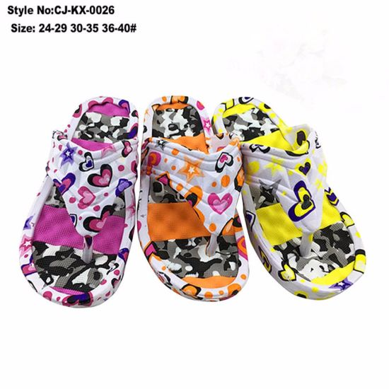 63a4b45e5ddc28 China 2017 New Arrival Fancy EVA Flip Flop with High Heel - China ...