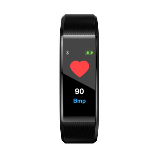 TFT Color Screen Intelligent Wristwatches Pressure Monitoring System TPMS 115plus Alarm Watch Smart Heart Bracelet