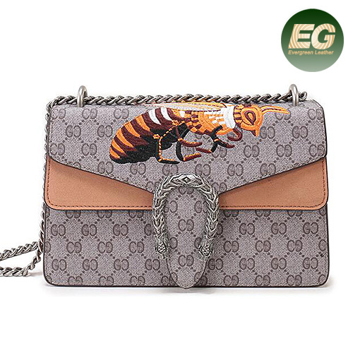 3a735744609 China New Models Leather Ladies Handbag With Embroidery Pattern