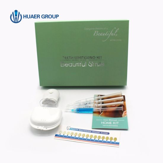 China Top Sale Luxury Teeth Whitening Home Kit 35 Cp Dental Tooth