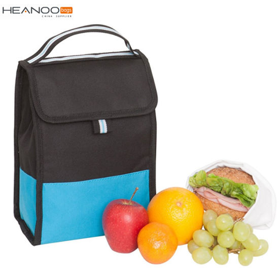 Polyester Folding Active Unique Zippered Best Insulated Thermal Lunch Bag