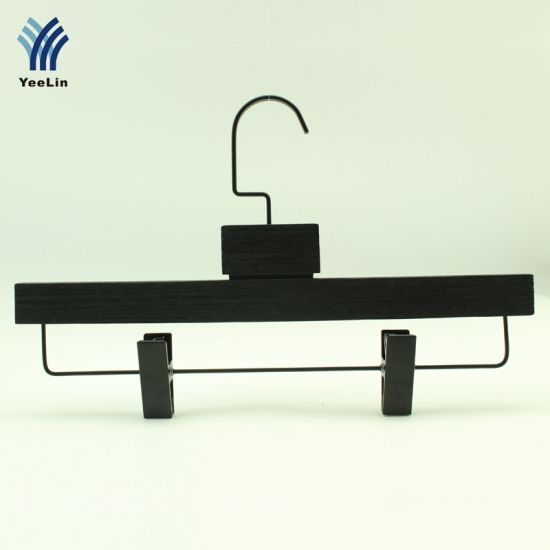 Yeelin Ash Wood Bottom Hanger with Flat Clip pictures & photos