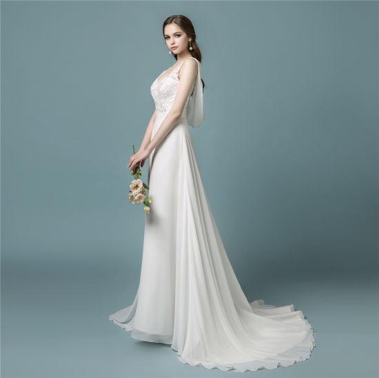 China Amelie Rocky 2018 A Line Beach New Wedding Dress - China New ...