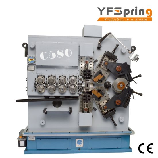 China yfspring coilers c580 5 servos wire diameter 300 800 mm yfspring coilers c580 5 servos wire diameter 300 800 mm cnc spring coiling machine greentooth Images