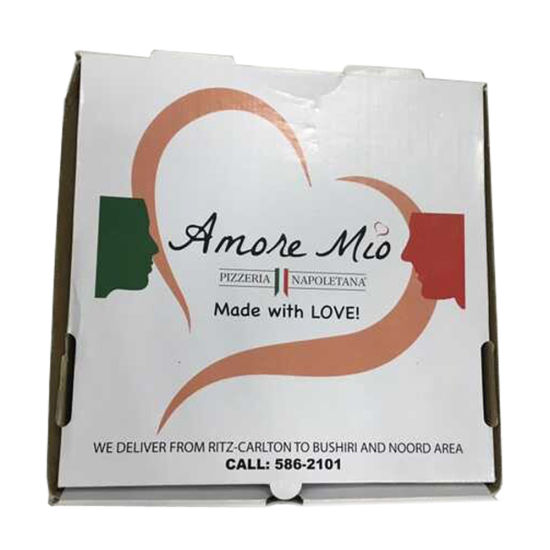 Hot Sell Corrugated Pizza Box with Custom Size pictures & photos