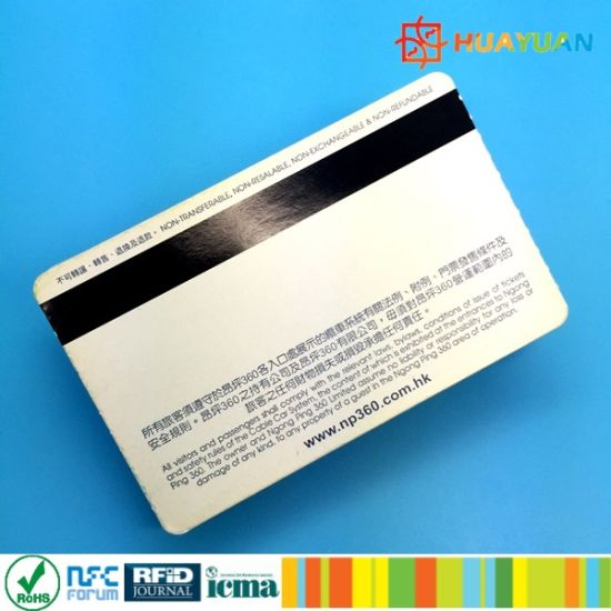 Ticketing System 13.56MHz MIFARE Ultralight EV1 RFID paper ticket pictures & photos