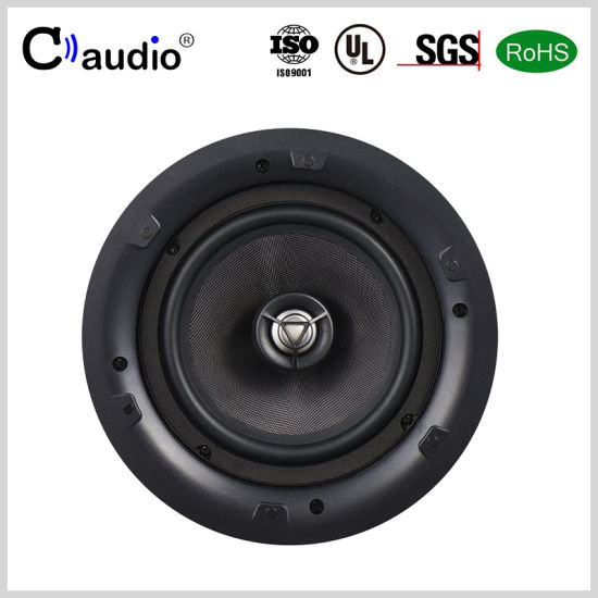 6.5 Inch Titanium Dome Tweeter Powered Sound HiFi Mini Professional PRO Audio Active PA Home Theater Loud Stereo Ceiling Speaker Box