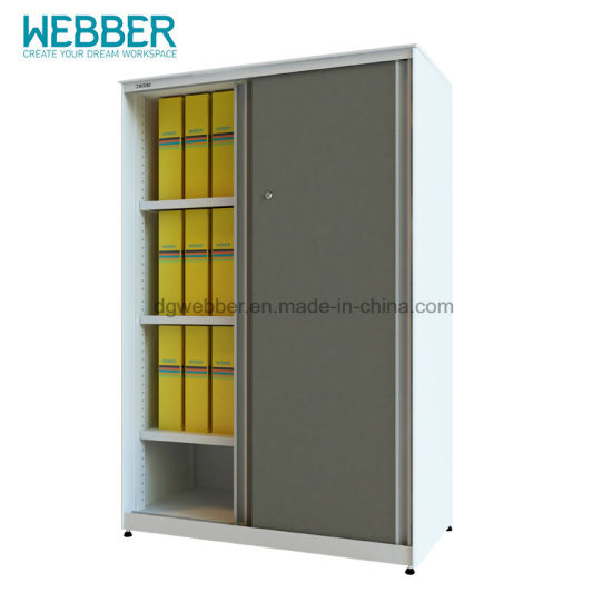 Manufacturers Wholesale Steel Filing Cabinet for Office with Sliding Door