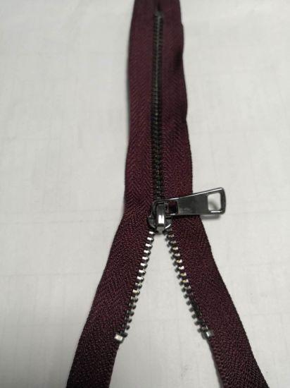 Metal Zipper Auto Lock Open End