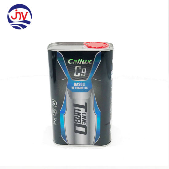 Metal Tin Can Boxes for 1L Gasoline Engine Oil