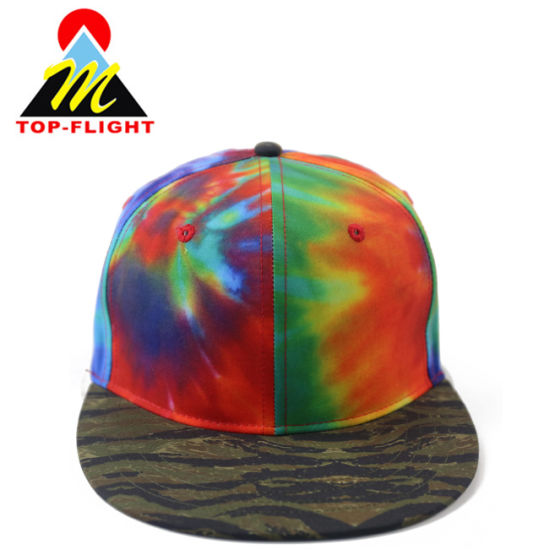 95d2c986 China Custom Your Own Sublimation Printing Flat Brim Snapback Cap ...