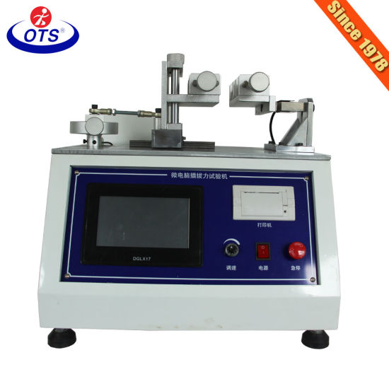 Electronic Testing Equipment Industry Insertion Extraction Force Material Test Machine