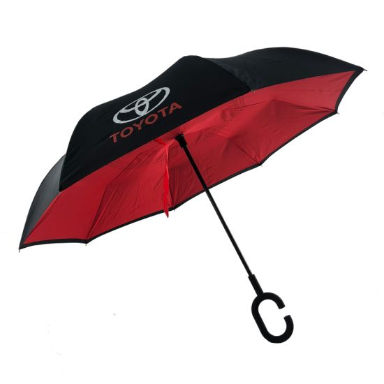 Promotional Custom Color Upside Down Inverted Reverse Umbrella pictures & photos