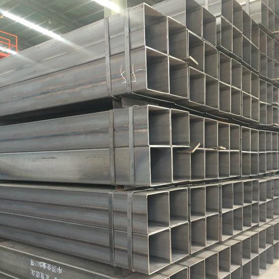 BS En10219 Standard2 Dimensions 10 X 10-400 X 400mm Welded Mild Steel  Square Pipes