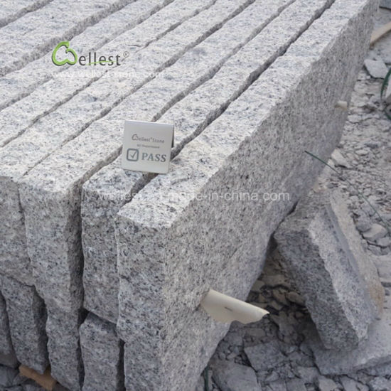 China Grey Granite Curbs, Granite Kerb Stone, Road Kerbs