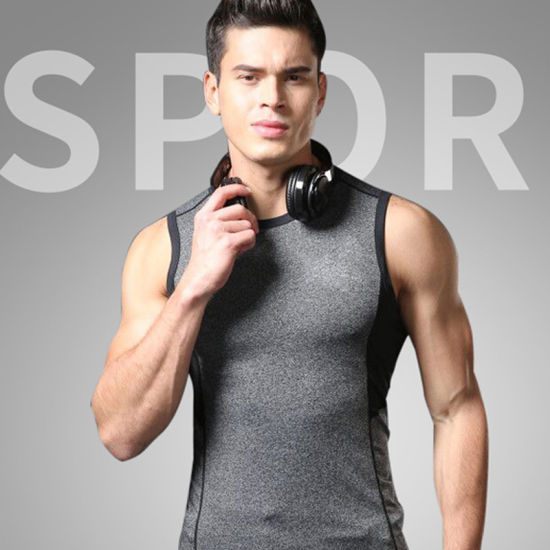 2018 Gym Clothing Men Sleeveless Wholesale Sportswear