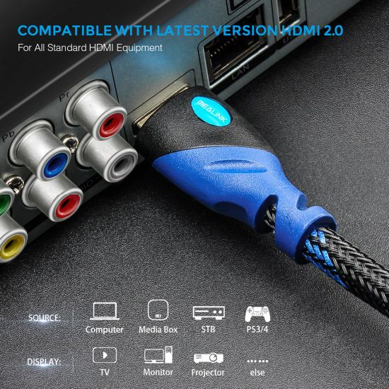 4kx2K HDMI Cable 2.0V/1.4V Ultra High-Speed Proffessional HDMI Cord Long HDMI Cable pictures & photos