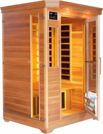 China Indoor 2 Persons Far Infared Sweat Steam Sauna Room - China ...
