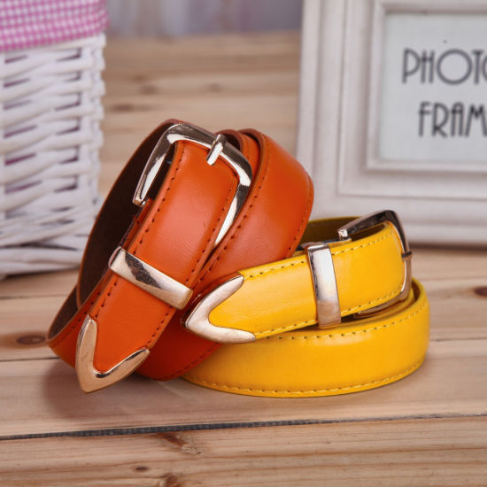 Ladies Colorful Elastic Womens Wide 3 Cm Leather Belt