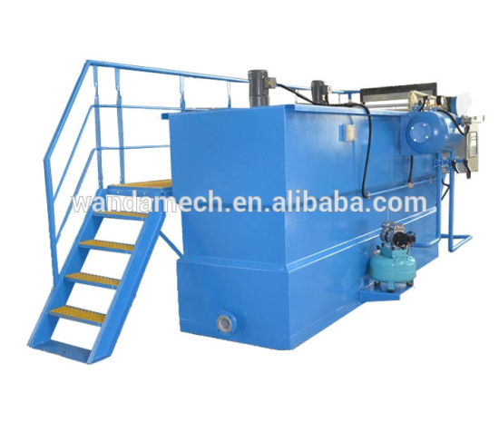 Dissolved Air Floatation Machine for Slaughter House Waste Water Treatment