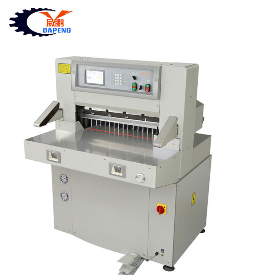 Automatic Program Control 66cm Small Hydraulic A3A4 Paper Guillotine Cutting Machine (QZYK660DW-7)