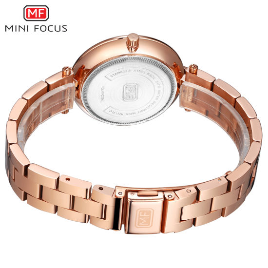 Mini Focus Japan Movement New Design Luxury Steel Strap Lady Watch With Cheap Price China Watch And Wrist Watch Price Made In China Com