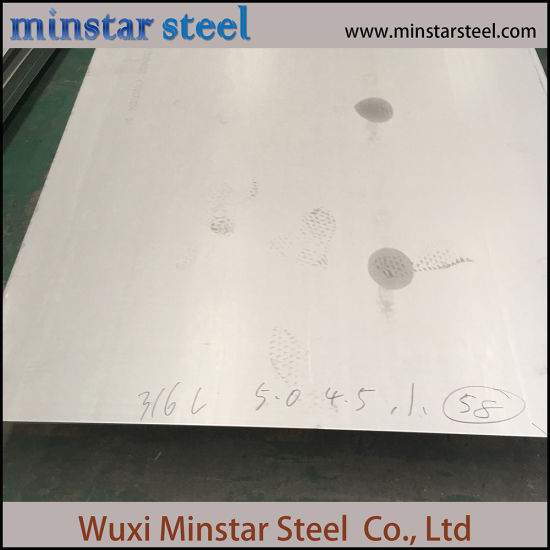 Pickled/No. 1 Finish Hot Rolled Stainless Steel Coil Steel Plate pictures & photos