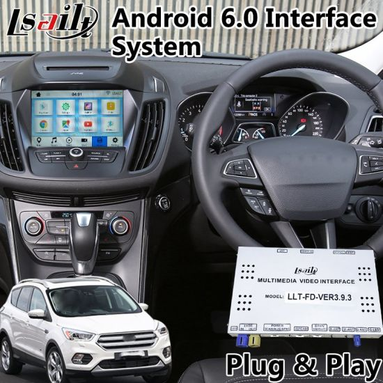 China Ford Escape / Fusion Android 6 0 Auto Interface
