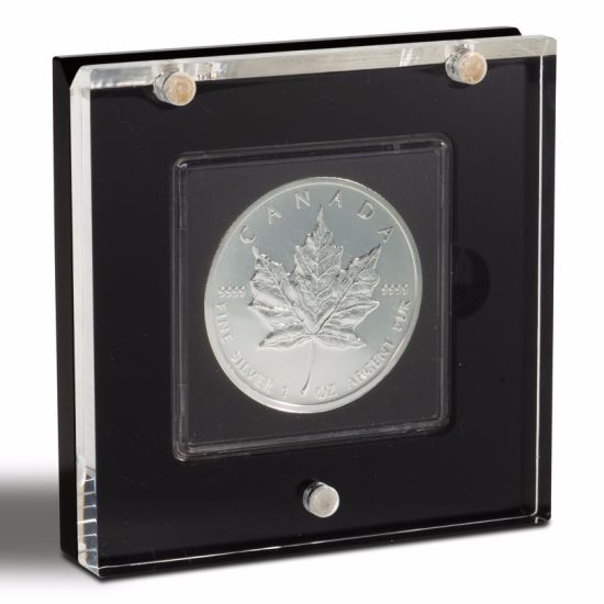 Custom Made Clear Acrylic Commemorative Challenge Coin Display Stand Holder
