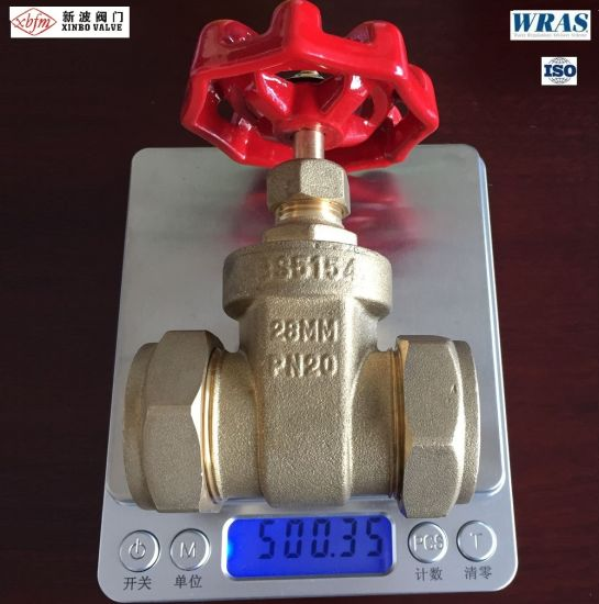 Non-Rising Stem Compression Ends Brass Gate Valve pictures & photos