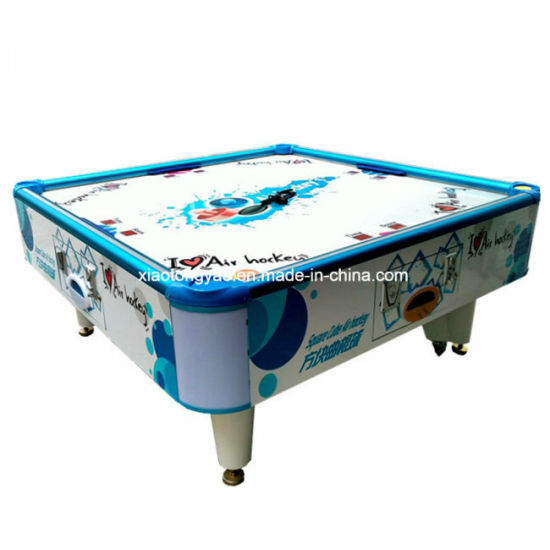 Astounding 4 Players Big Coin Operated Adult Air Hockey Table For Playground Interior Design Ideas Tzicisoteloinfo