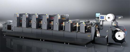 Intermittent Label Offset Printing Machine for Stick