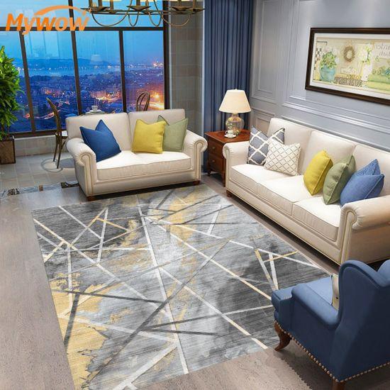 MyWow Factory Price High Quality Rugs Floor Door Mat Living Room Bedroom Non-Slip
