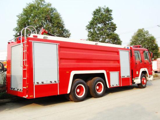 Sinotruk HOWO 6*4 Water Foam 10+2.08 Tank Fire Fighting Truck/ Fire Engine Truck