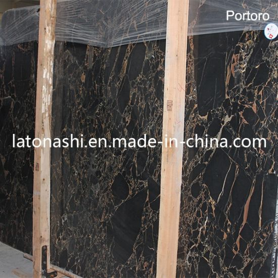Natural Black Flower Marble Slab for Backplash, Countertop, Paving, Tombstone pictures & photos
