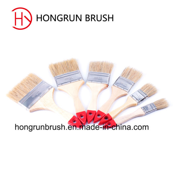 Wooden Handle Paint Brush (HYW0223) pictures & photos