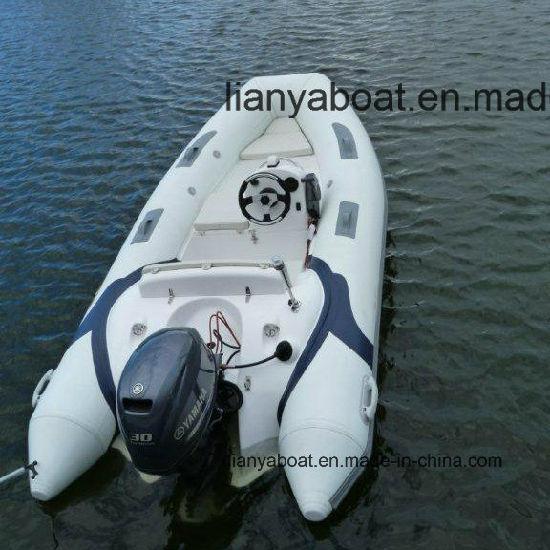China Liya 3 3 3 8m Center Console Rib Boat Inflatable Motor