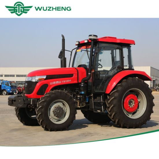 WUZHENG Farm 120HP 4 Wheel Tractor for Sale From China pictures & photos