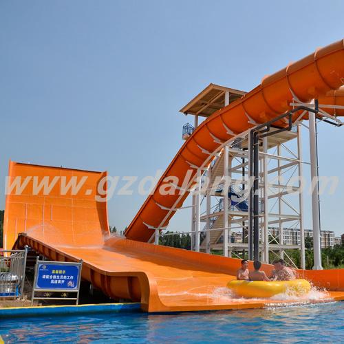 Water Park Equipment Big Skate Water Slide
