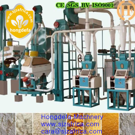 Corn Flour Mill/Maize Flour Mill/Corn Flour Milling Machine pictures & photos