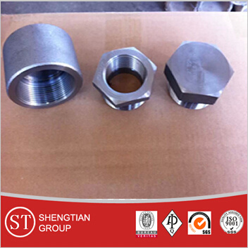 Carbon Steel Socket Weld Pipe Fitting Coupling pictures & photos