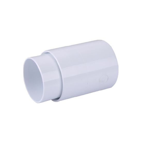 China Upvc Kitemark Certificate Rainwater Roof Gutter Round Din Fittings Coupling China Pvc Coupling Coupling