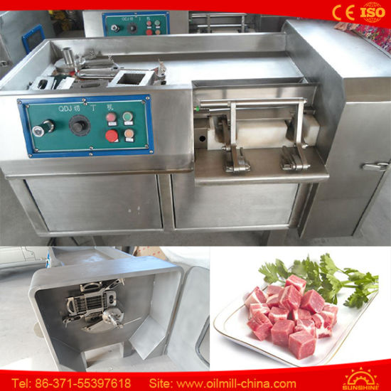 Stainless Steel Pork Beef Cutter Meat Cube Cutting Machine pictures & photos