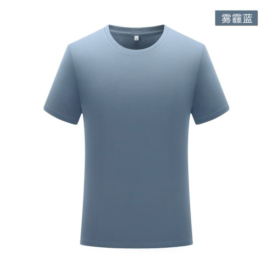 Hot Sale Short Sleeve Round Neck T-Shirt with Different Colors