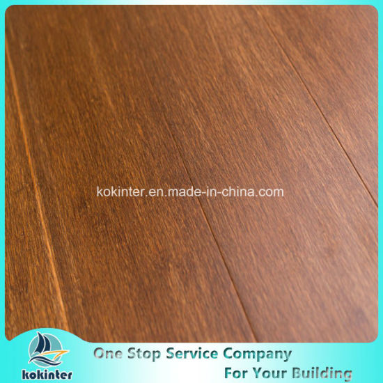 Lam Renmu Strand Woven Heavy Bamboo Flooring Indoor-Click System pictures & photos