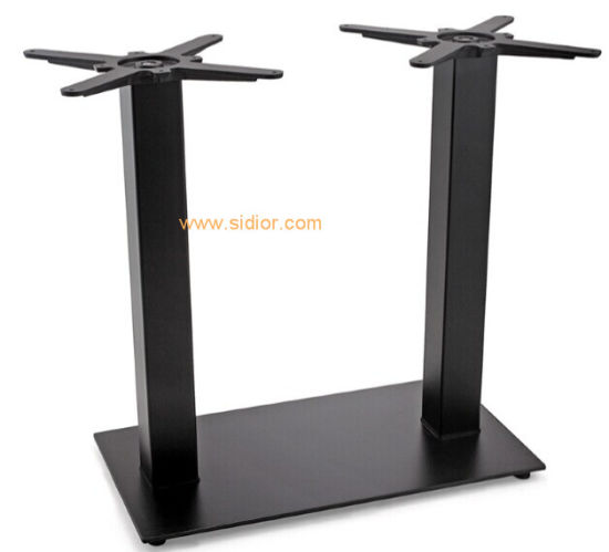 metal furniture legs modern. (SC-719) Modern Restaurant Dining Furniture Powder Coated Metal Table Legs