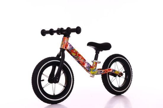 Nylon Frame Kids Balancing Bike Folding Walker Kid Balance Bicycle Mini Kids Balance Bike Wholesale