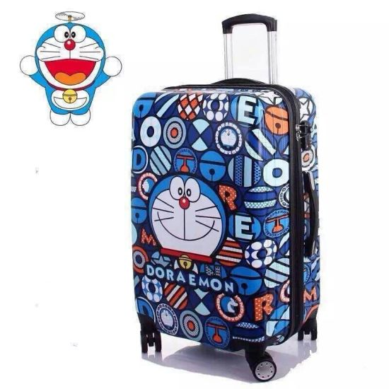 Hot New OEM Print Suitcase Trolley Case ABS/PC Printed Trolley Travel Spinner Luggage Bag pictures & photos