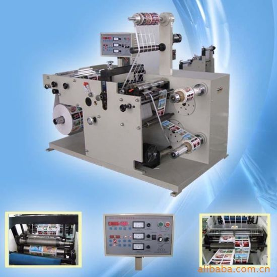 Rtq-420 Adhesive Label Paper Rotary Die-Cutting and Slitting Machine